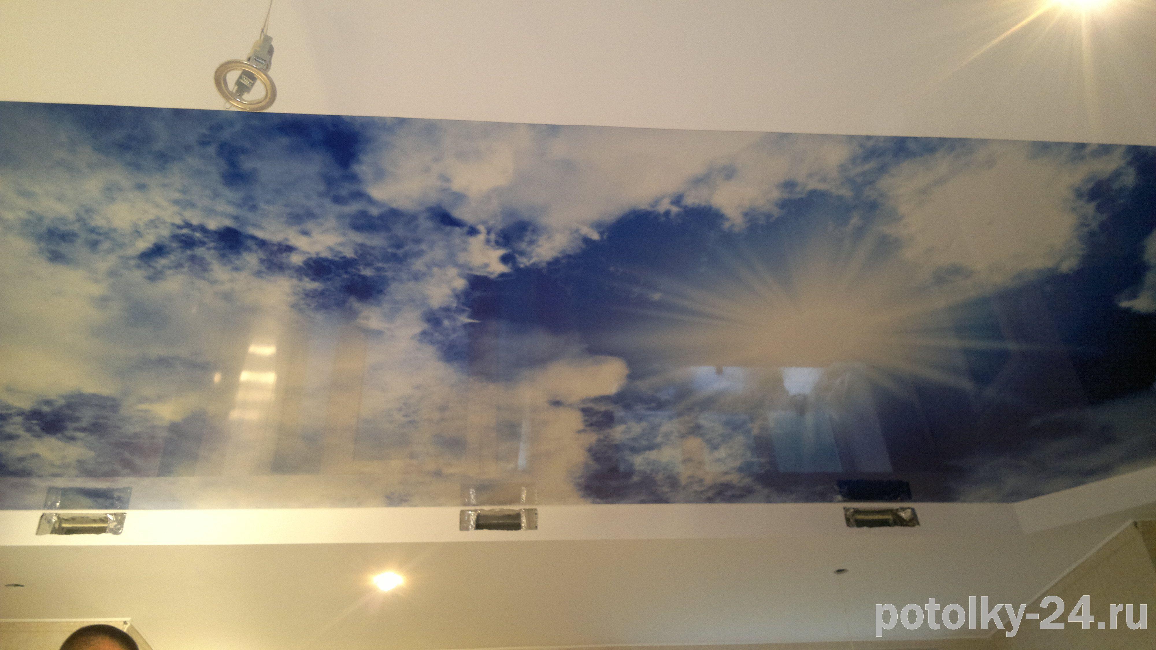 Фотопечать на потолках