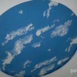 Изображение неба на натяжном потолке