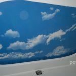 Фотопечать.Небо с облаками