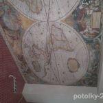 Фотопечать на потолке.Карты.