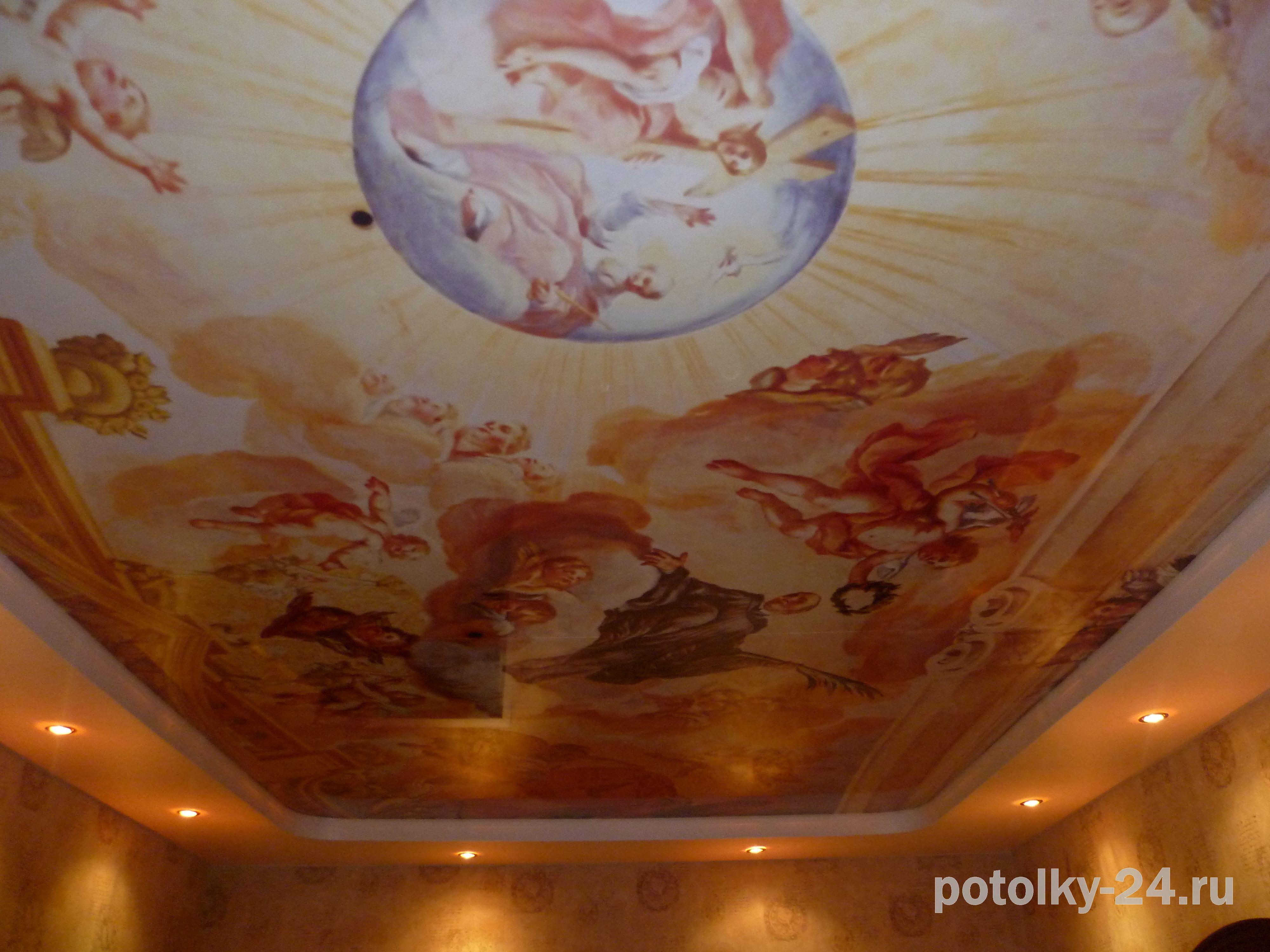Иконы на потолке