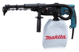 Перфоратор с пылесосом Makita